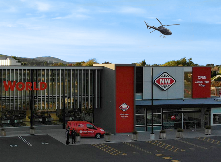 New World Halswell Work With the Christchurch Police Eagle to Stop a 1.5 Month Retail Crime Spree