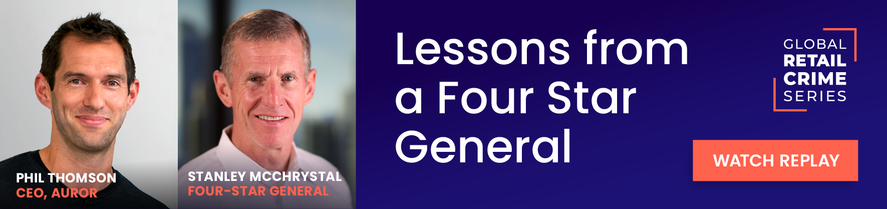 Lessons from a four star general