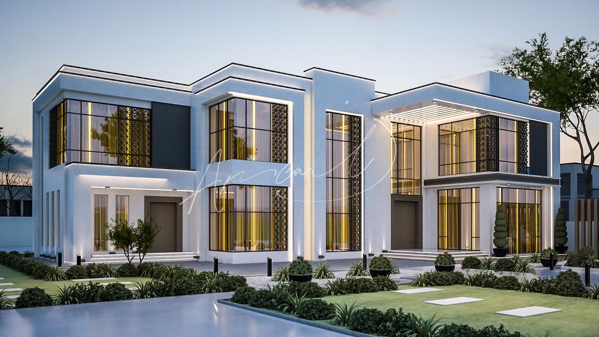 Modern Luxurious Villa Design - 080
