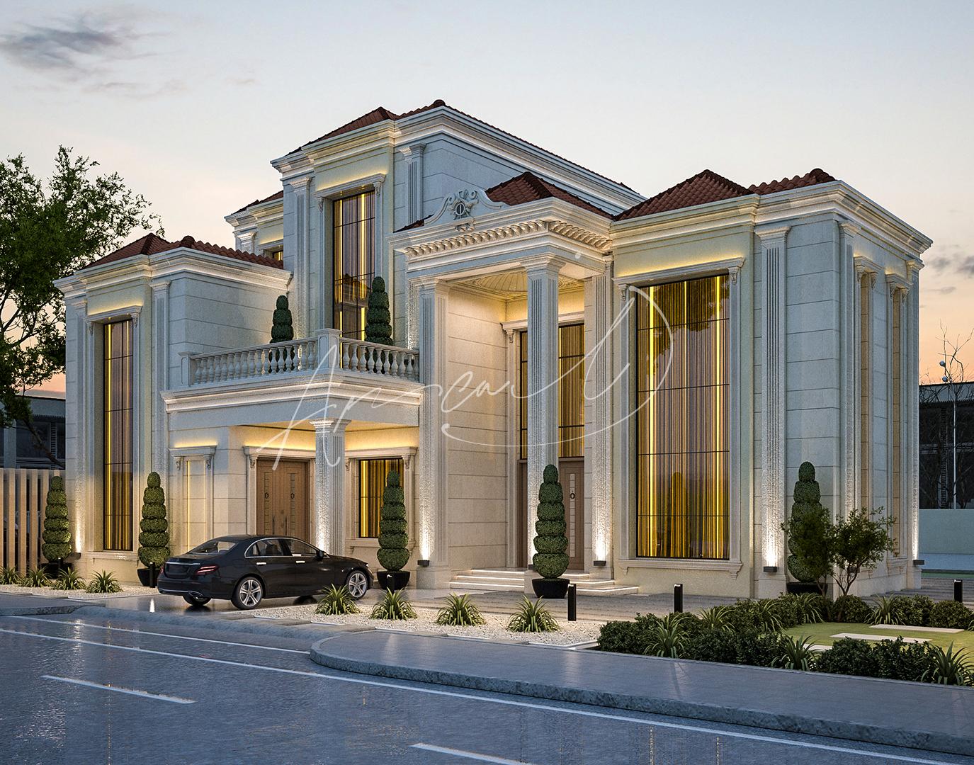 Luxury New Classical Villa Design - 078