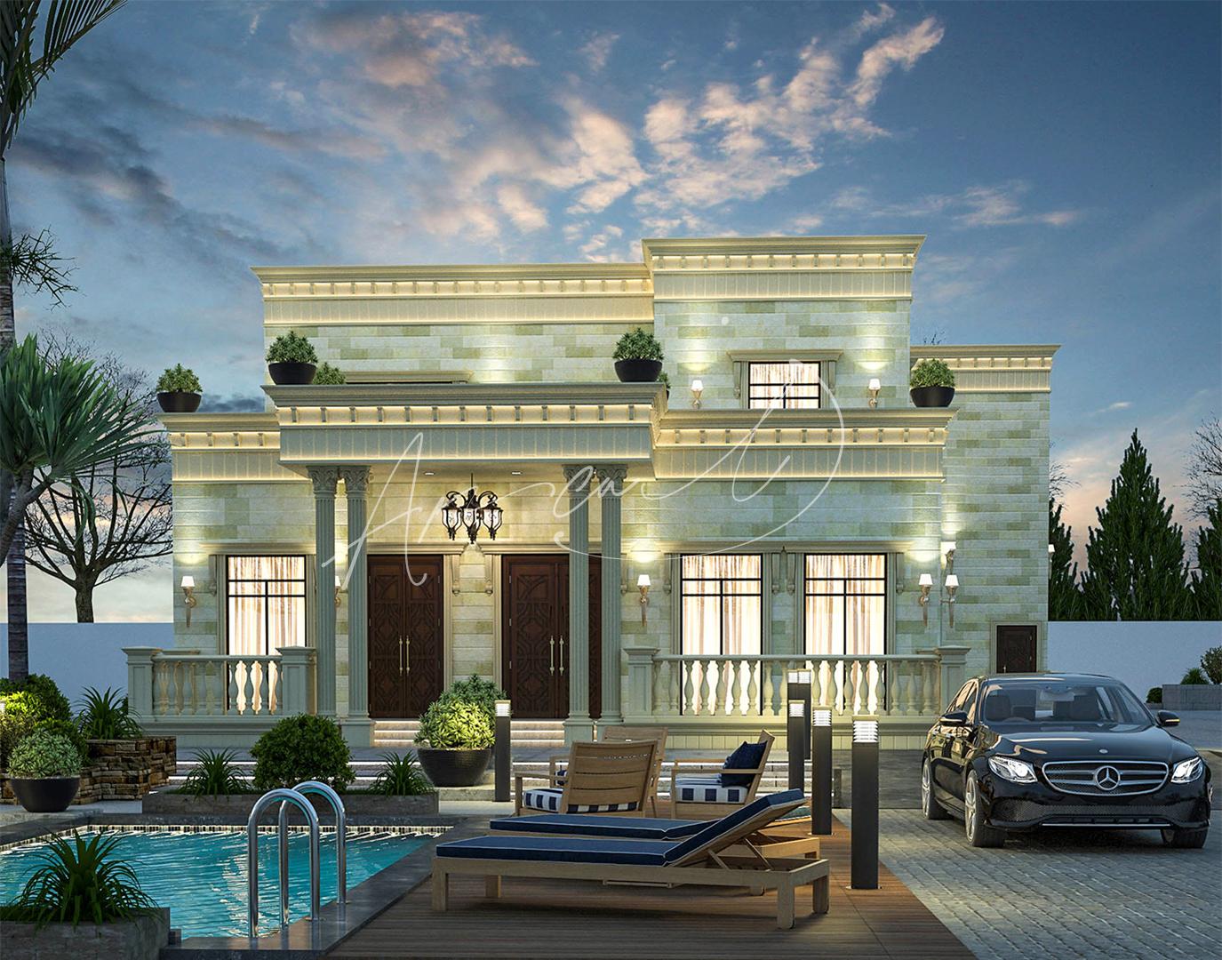 New Classic Villa Design - 074