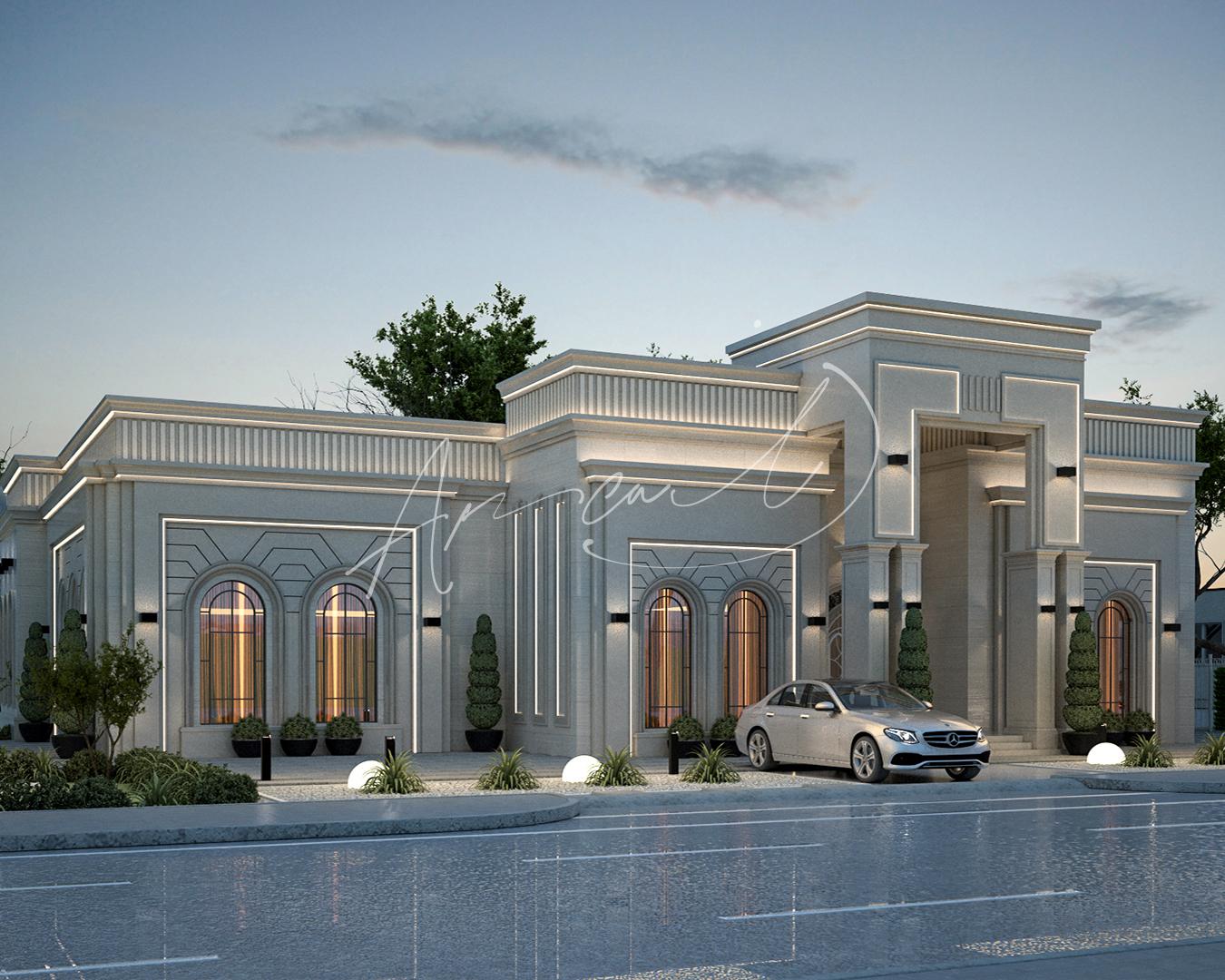 Neoclassical Villa Design - 045