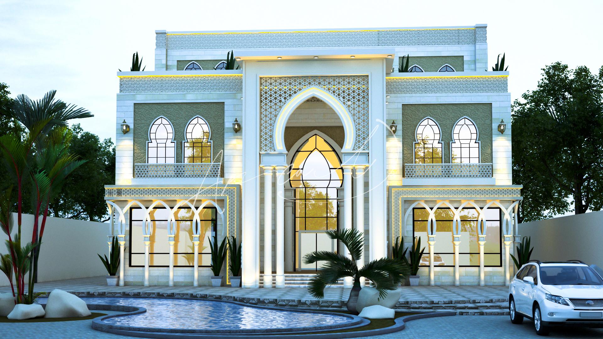 Islamic Luxurious Villa Design - 071