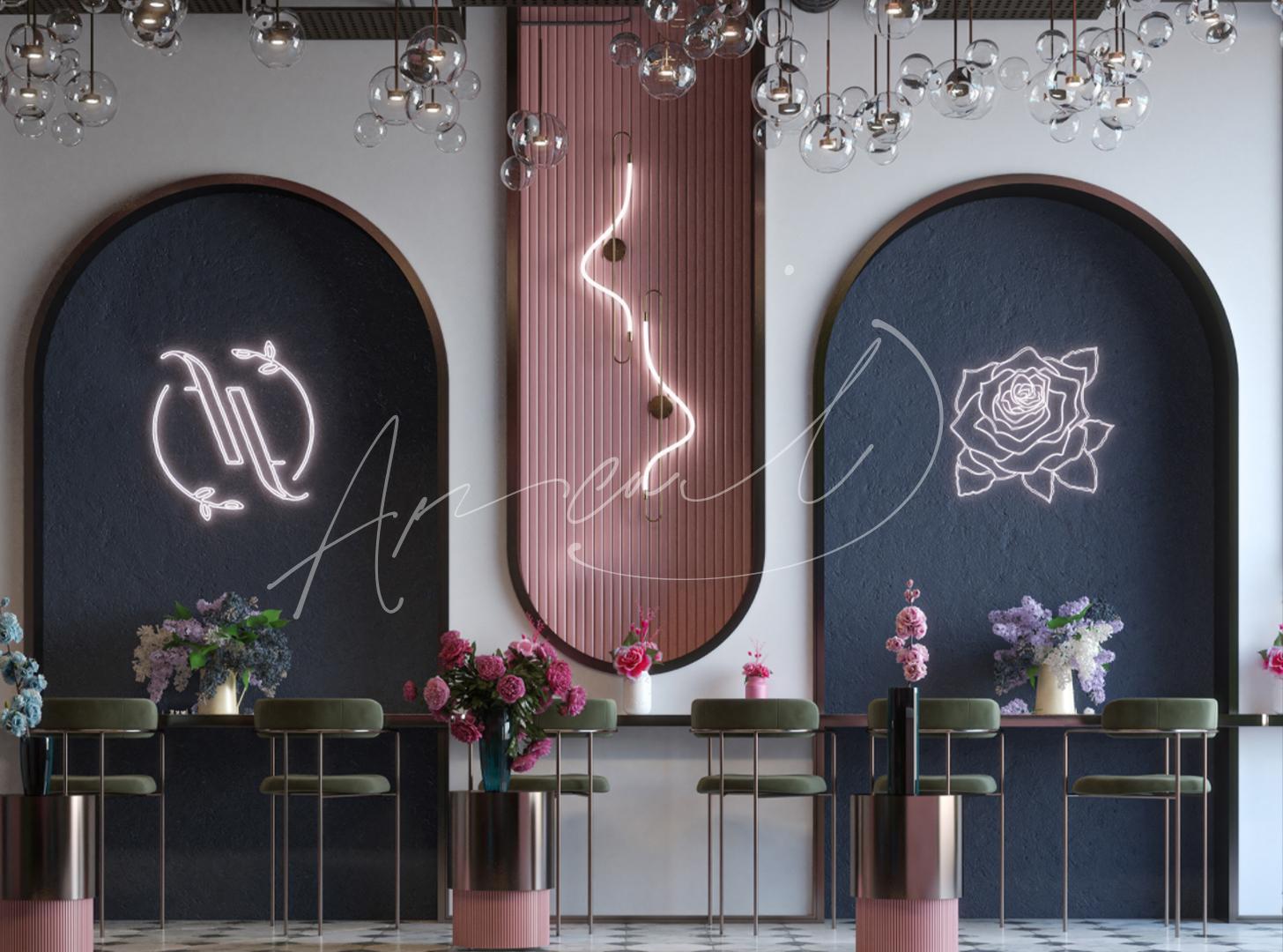 Art Deco Flower Shop