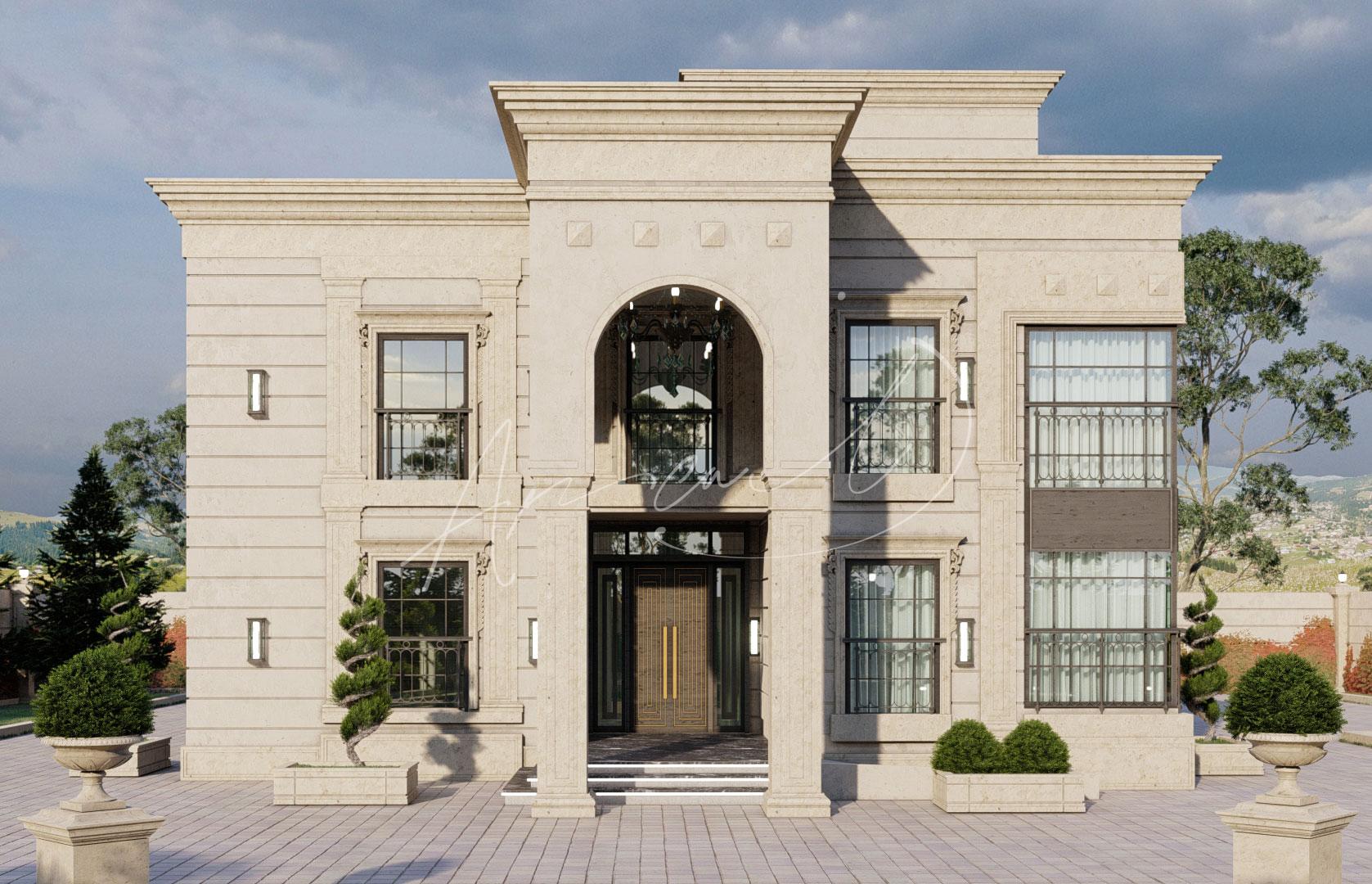 New Classic Villa Design - 063
