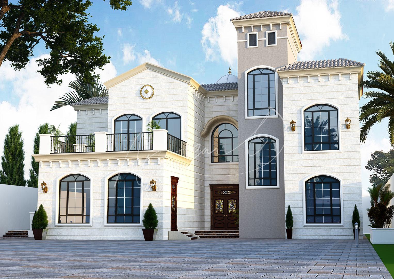 New Classic Villa Design - 065