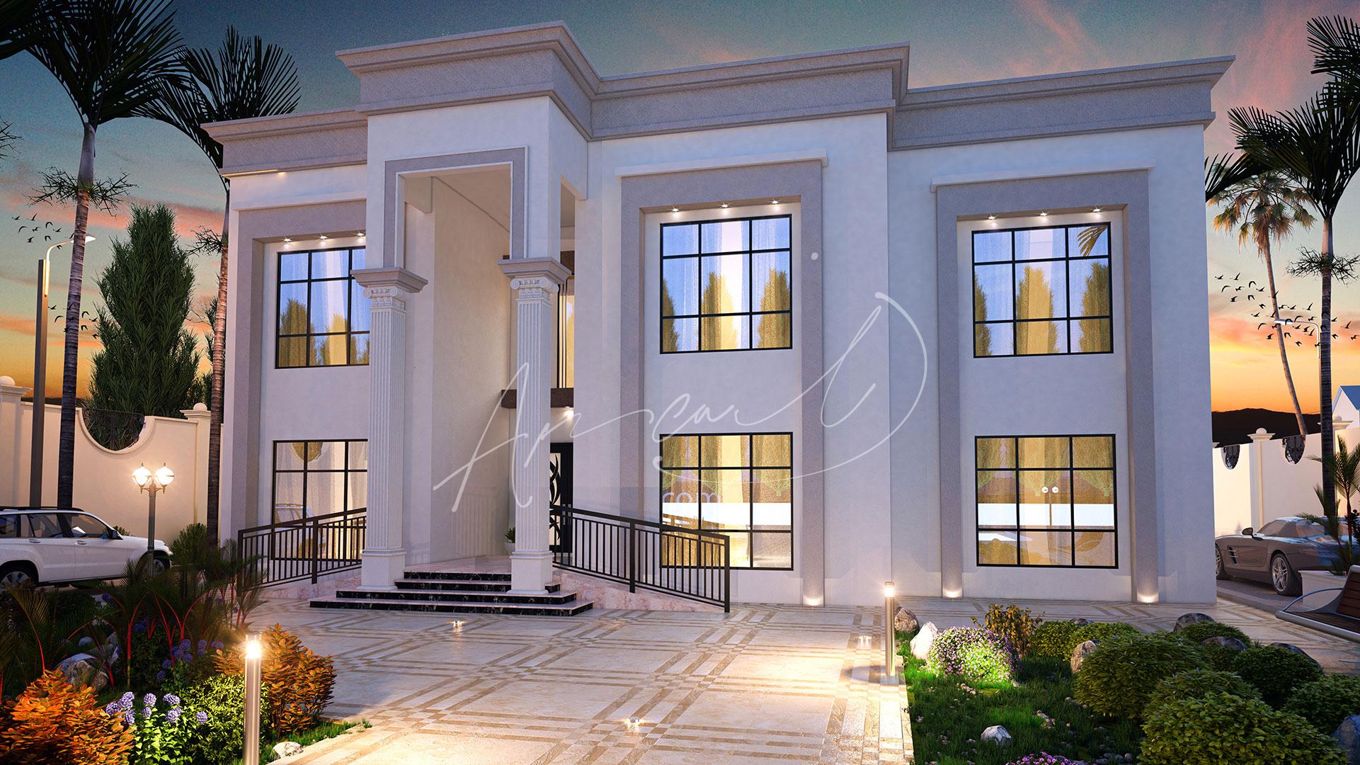 Neoclassical Villa Design - 064