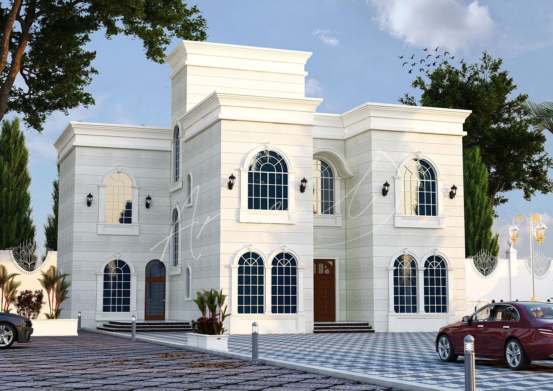 New Classic Villa Design - 062