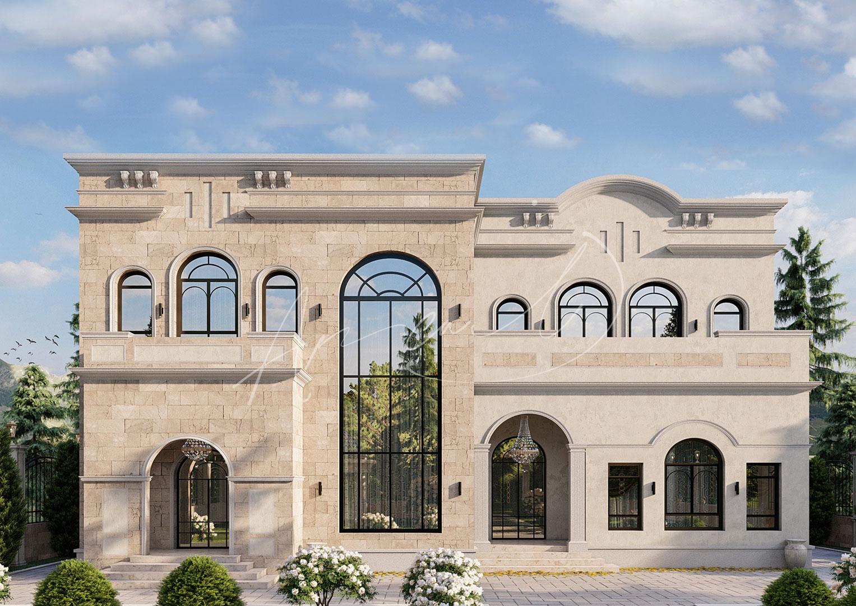Neoclassical Villa Design - 061