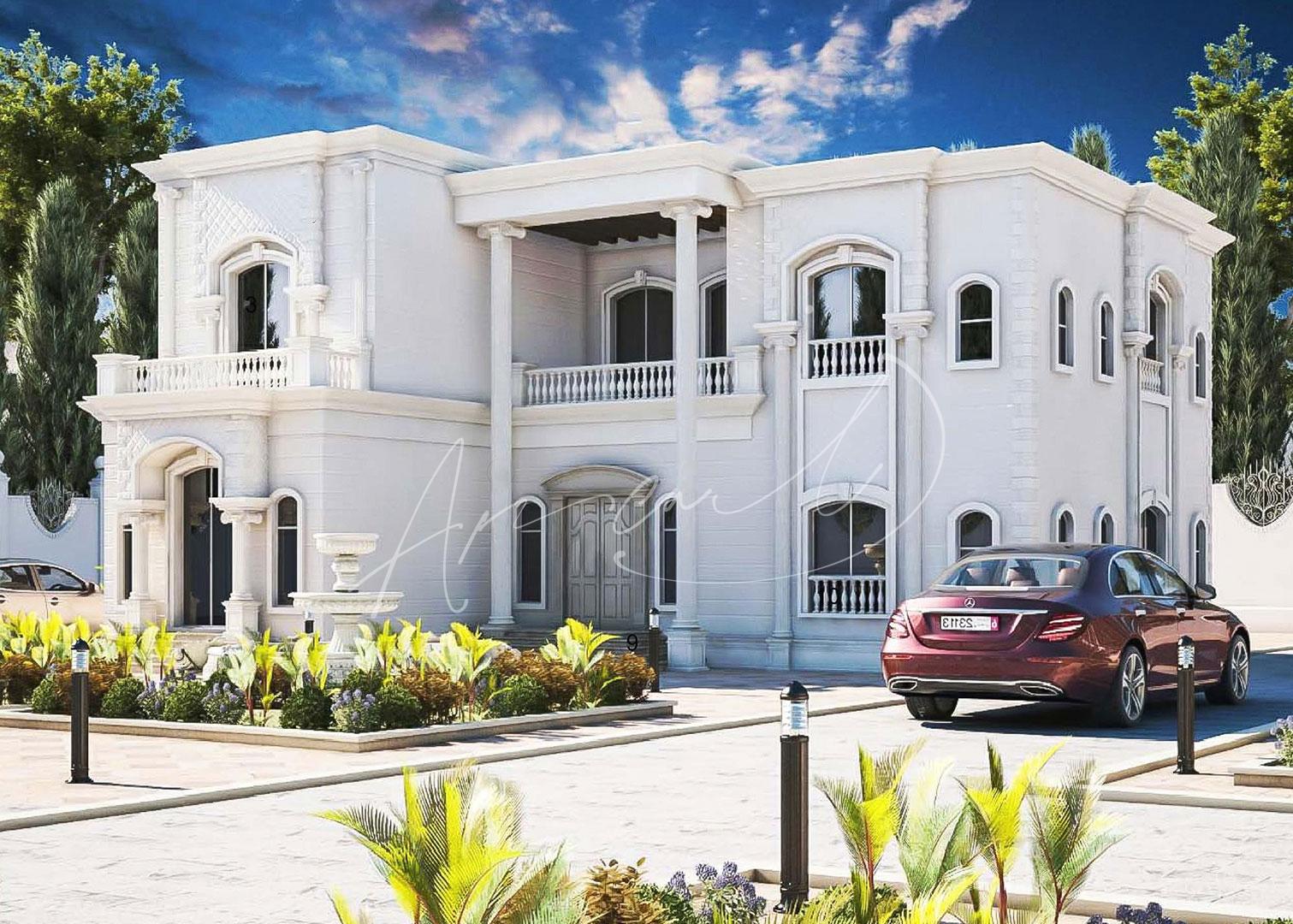 Neoclassical Villa Design - 060
