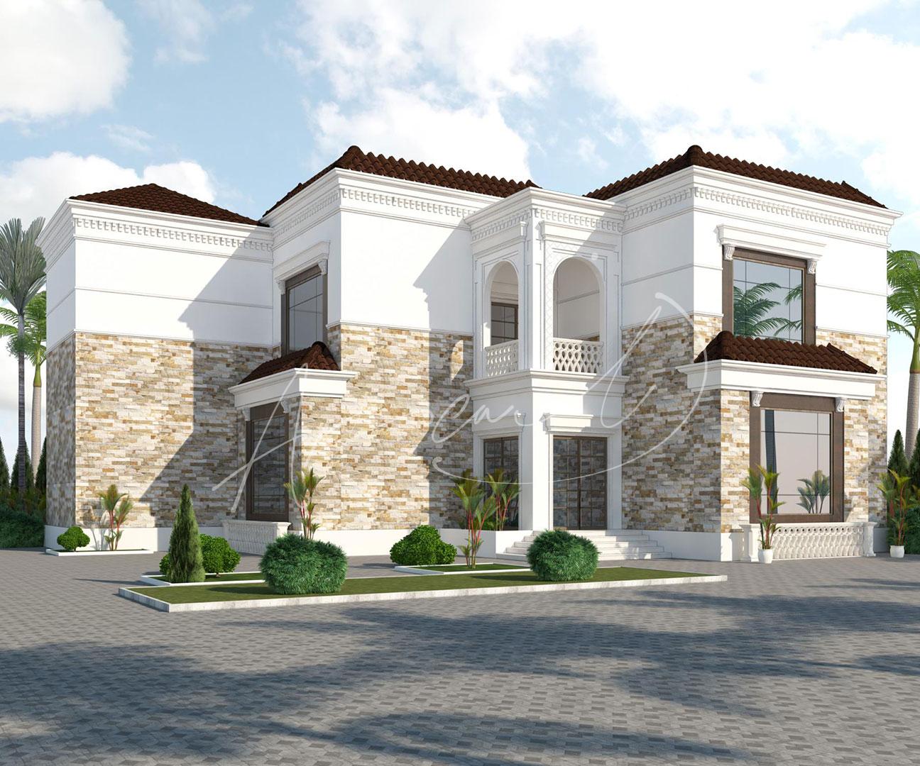 New Classic Villa Design - 059