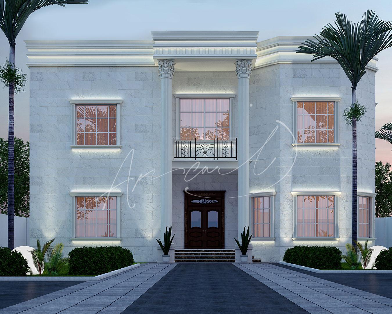 New Classic Villa Design - 058