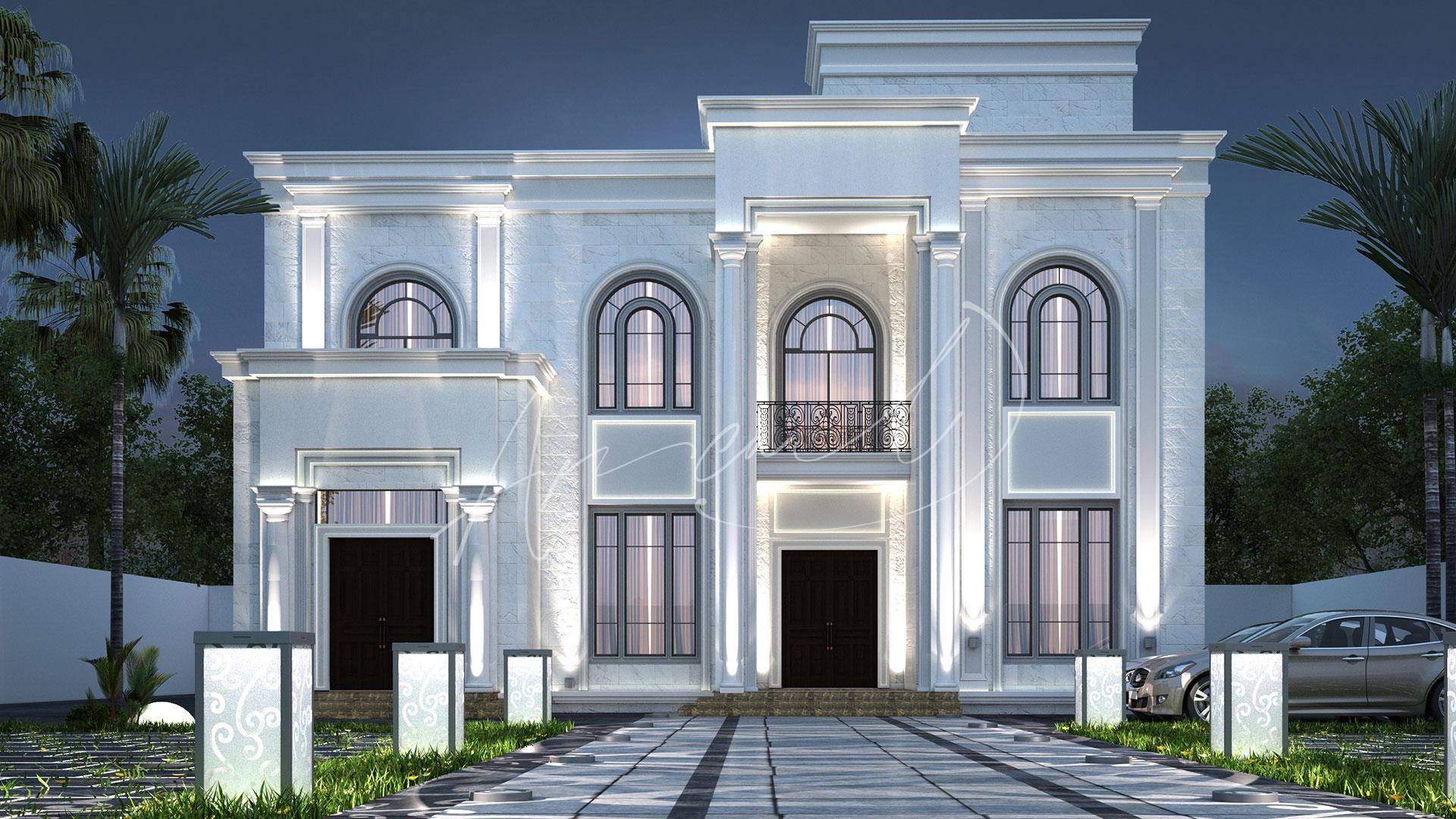 New Classic Villa Design - 047
