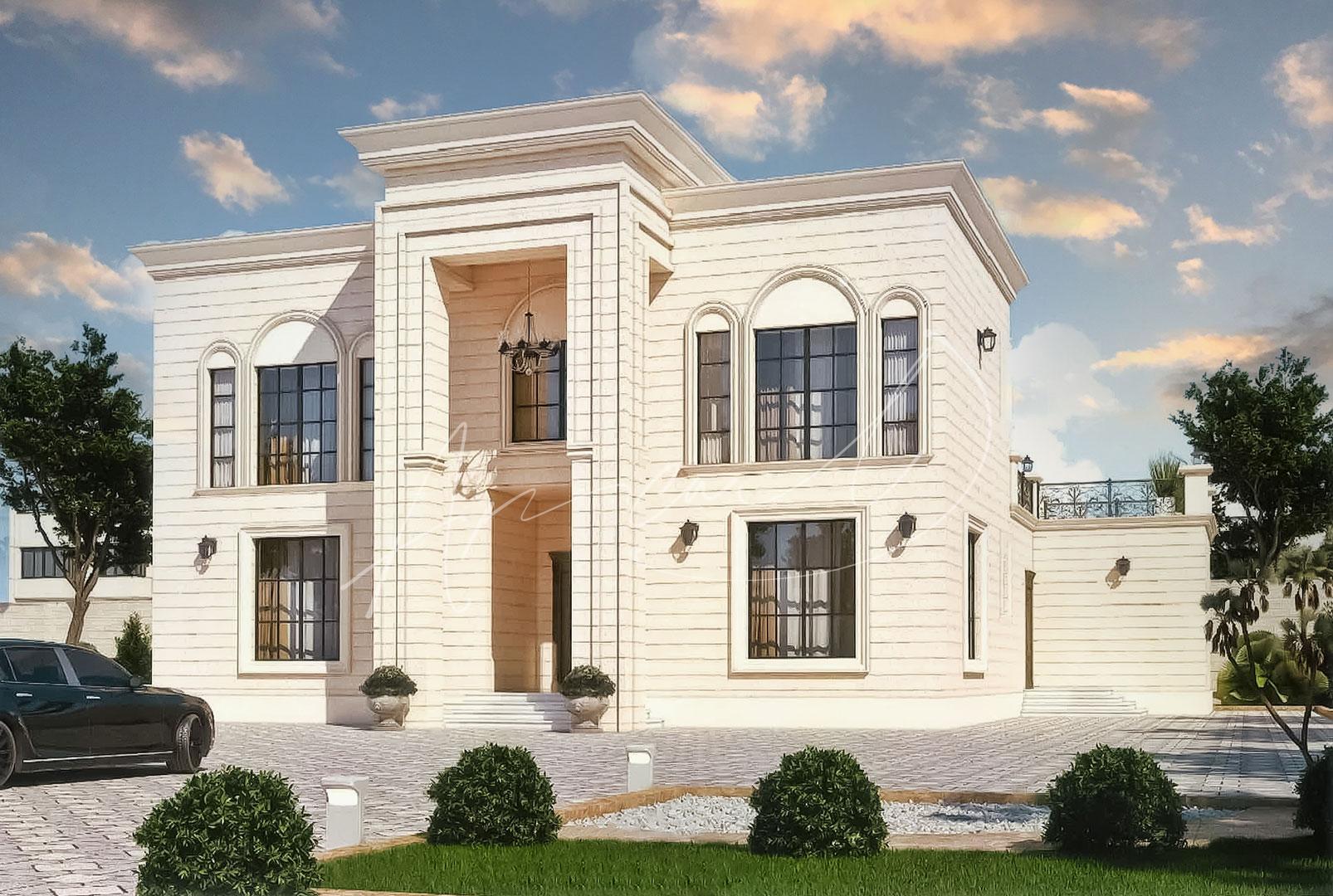 New Classic Villa Design - 050
