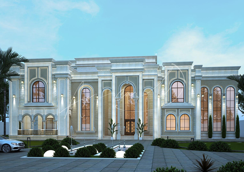 Luxury New Classic Villa Design - 052