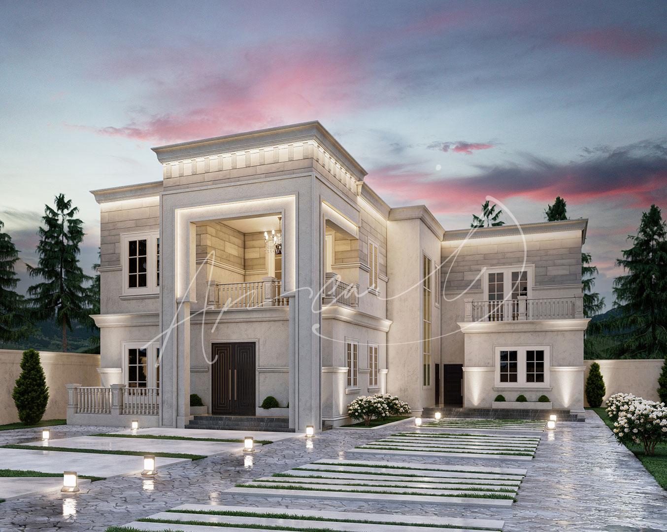 New Classic Villa Design - 053