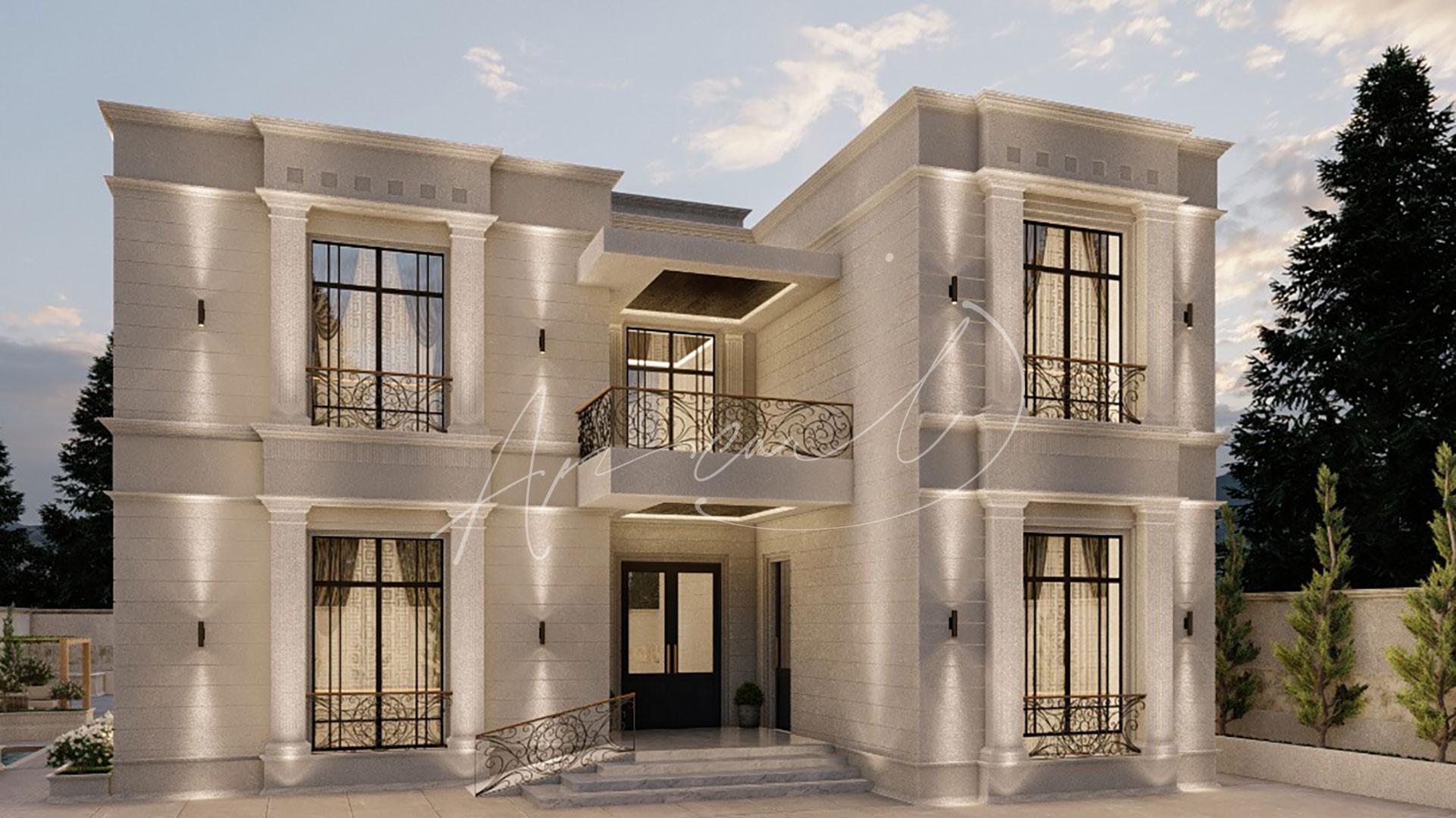 New Classic Villa Design - 054