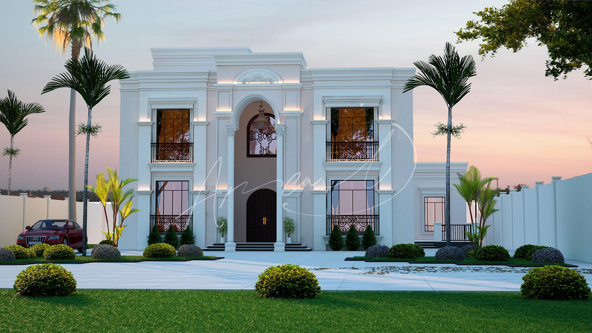 Neoclassical Villa Design - 055