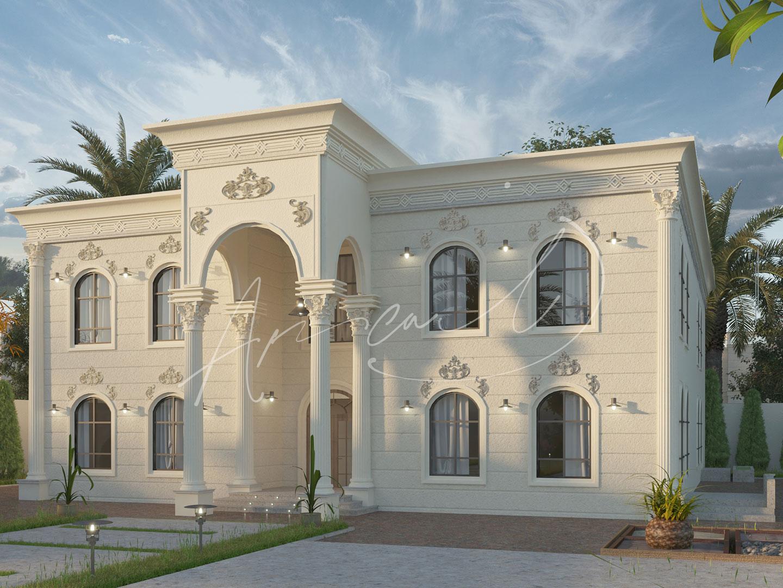 Classic Residential Villa Design - 020