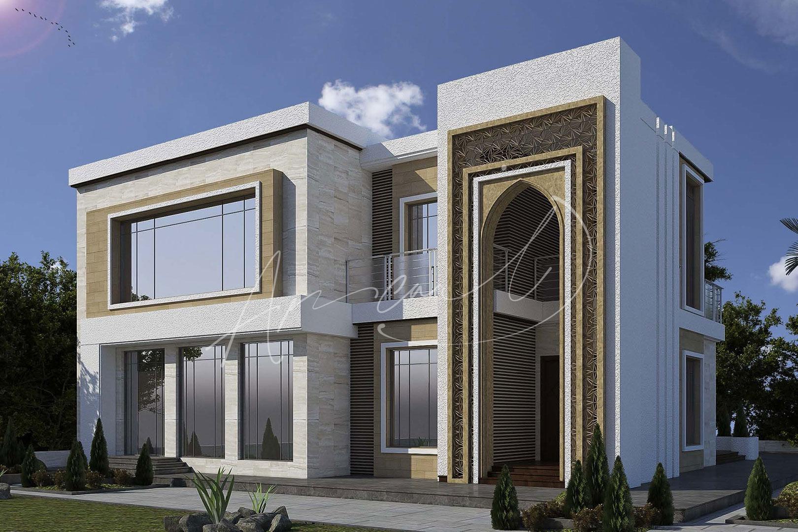 Modern Villa Exterior Design - 027