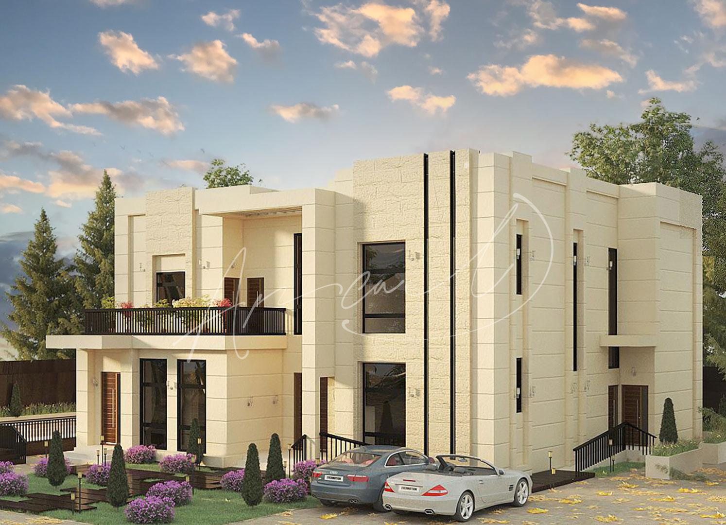 Modern Villa Exterior Design - 040