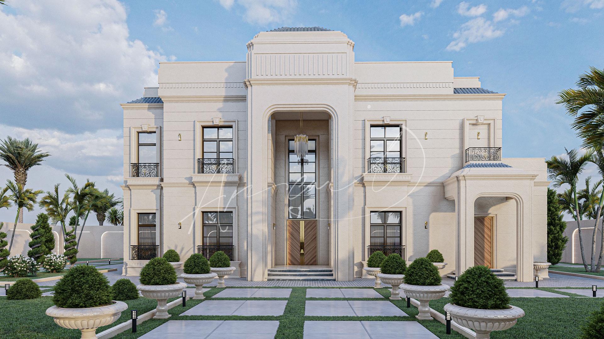 Luxury Neoclassical Villa Design - 042