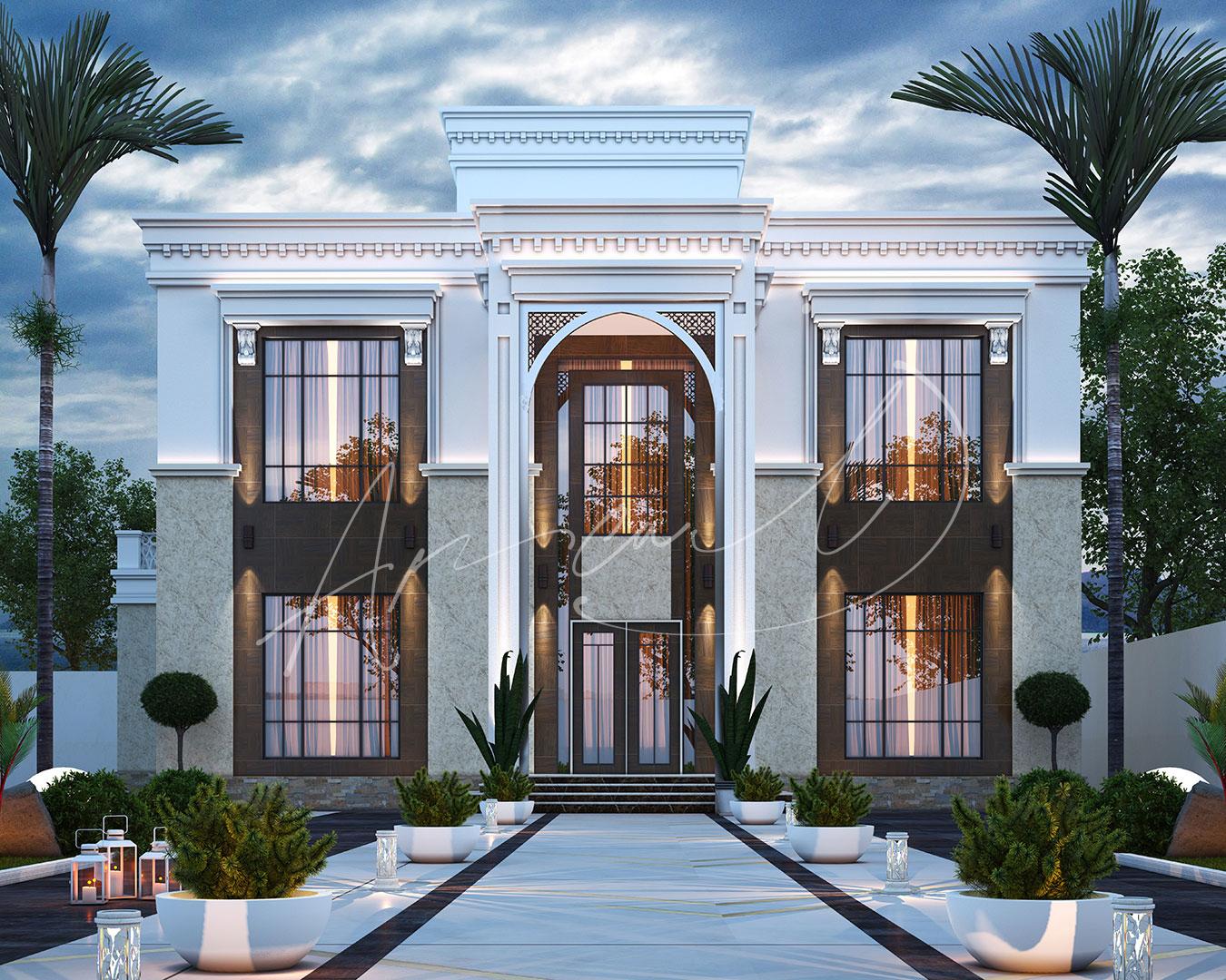 Neoclassical Villa Design - 043