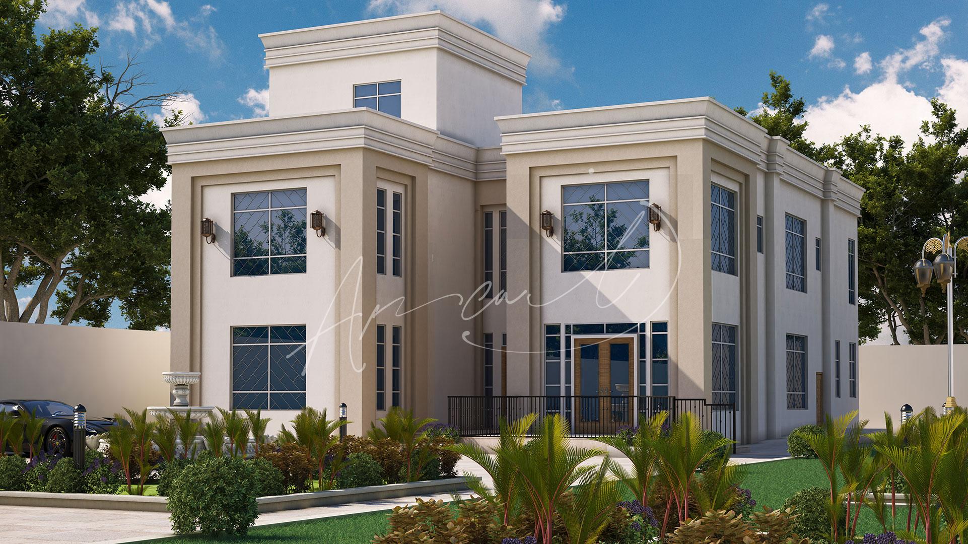 Neoclassical Villa Design - 046