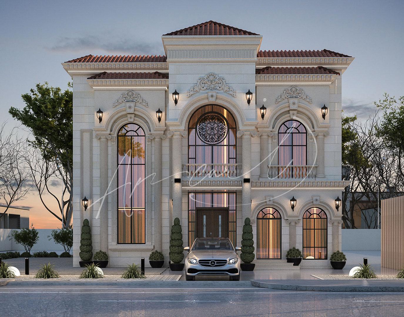Classic Luxury Residential Villa Design - 003
