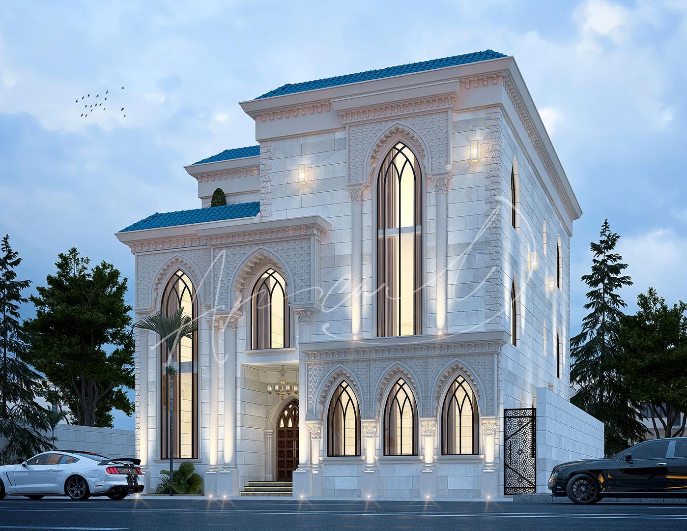 Luxury Islamic Villa Design - 008