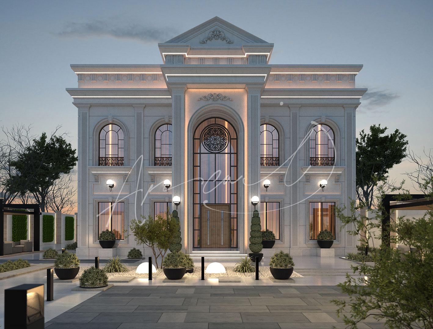 Classic Residential Villa Design - 009