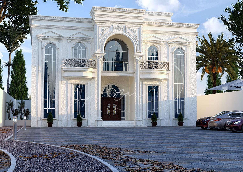 Classic Luxury Residential Villa Design - 011