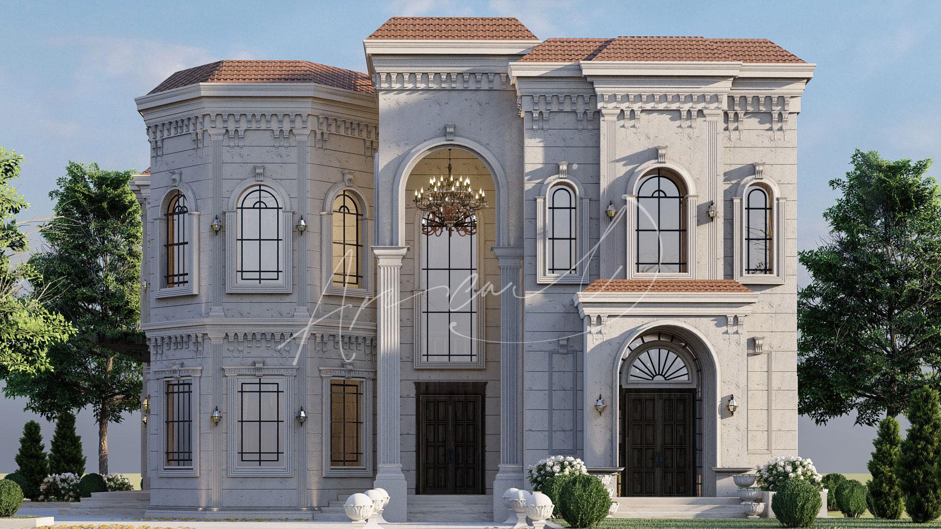 Classic Luxury Residential Villa Design - 014