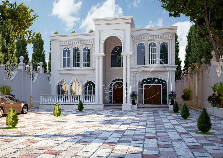 Classic Residential Villa Design - 015
