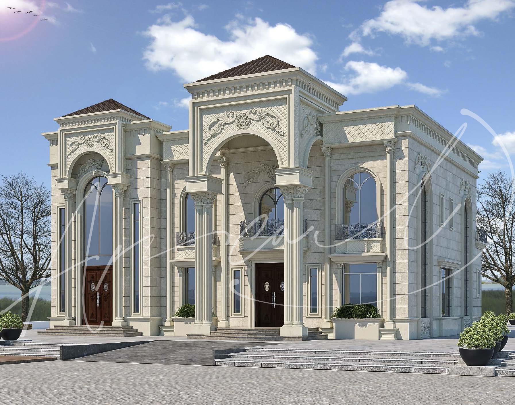 Classic Luxury Residential Villa Design - 017