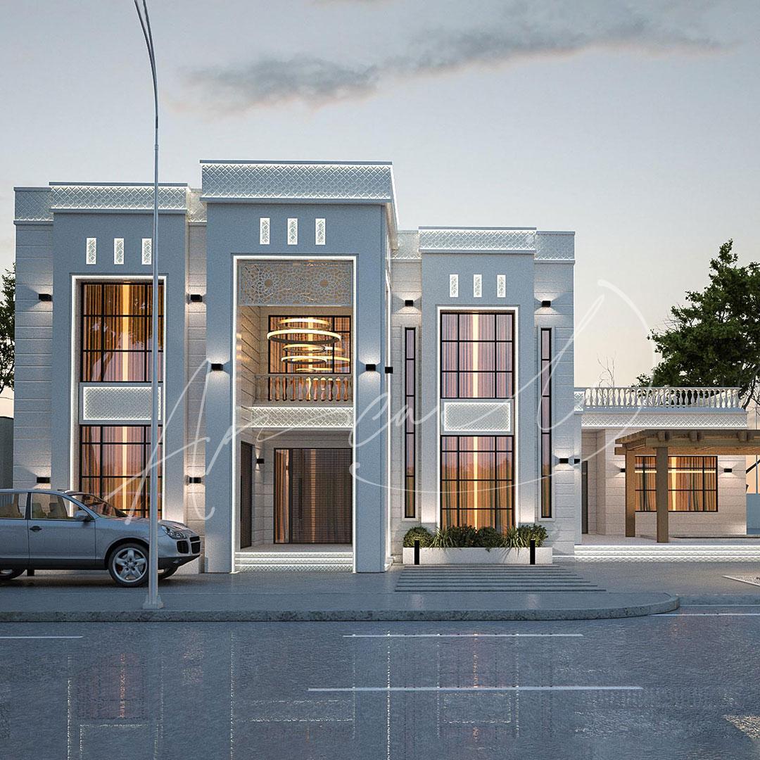 Modern Villa Exterior Design - 044