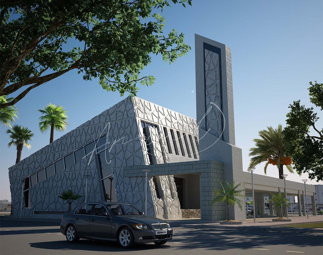 Modern Mosque Design - 03