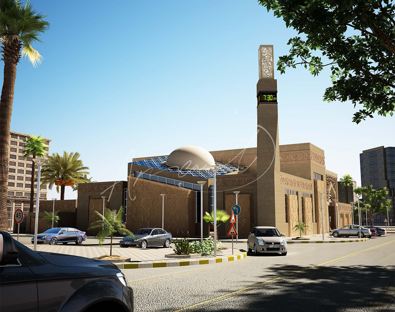 Modern Mosque Design - 04