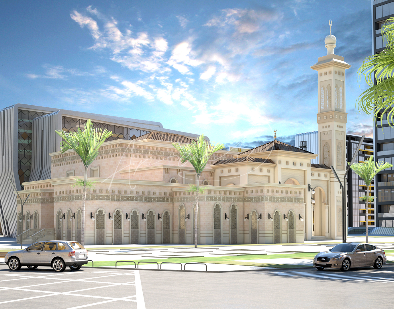 Andalusian Mosque Design - 02