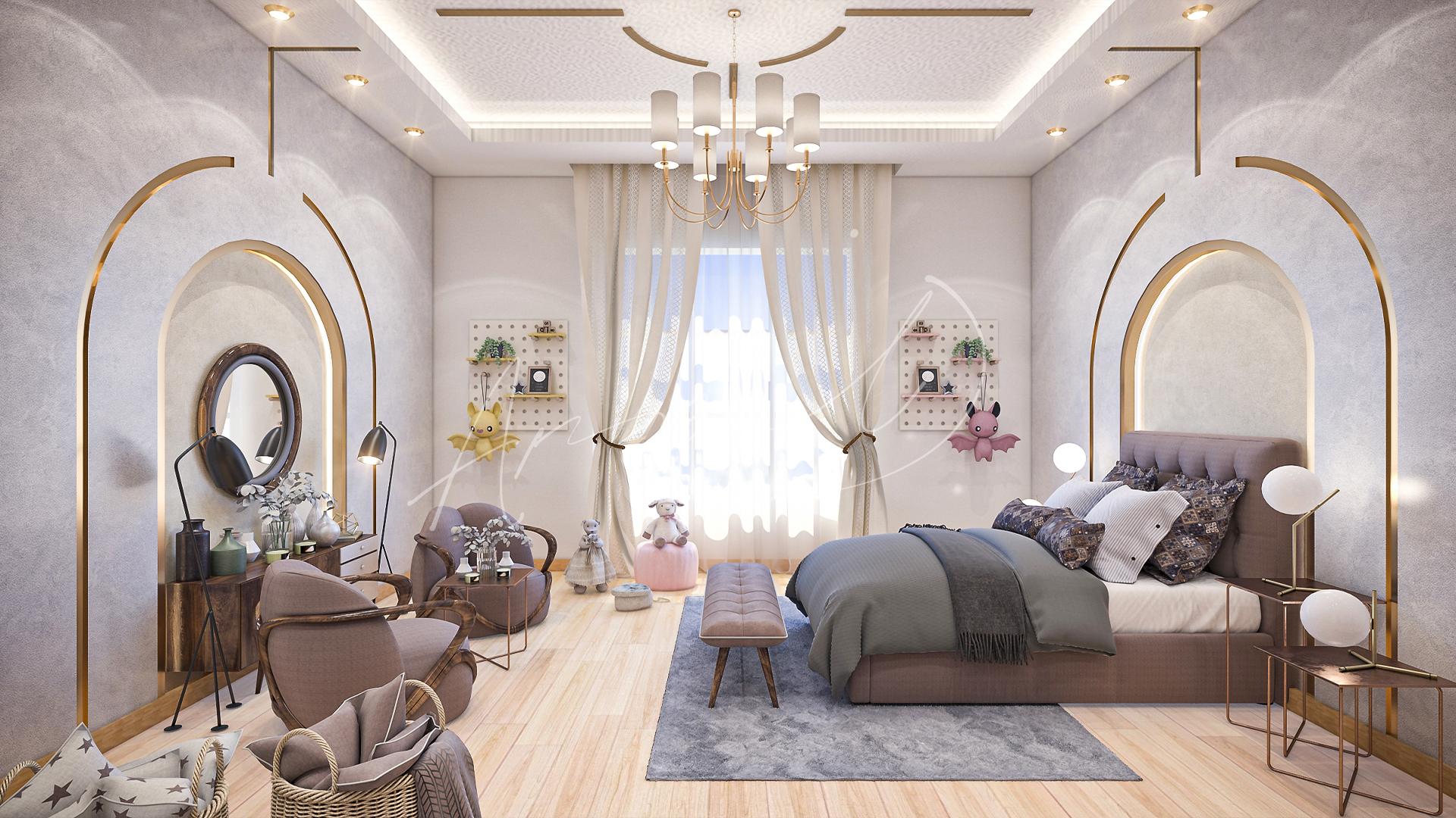 Modern Kids Bedroom