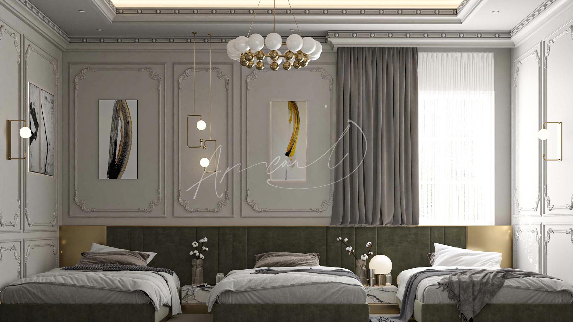 Classic Kids Bedroom
