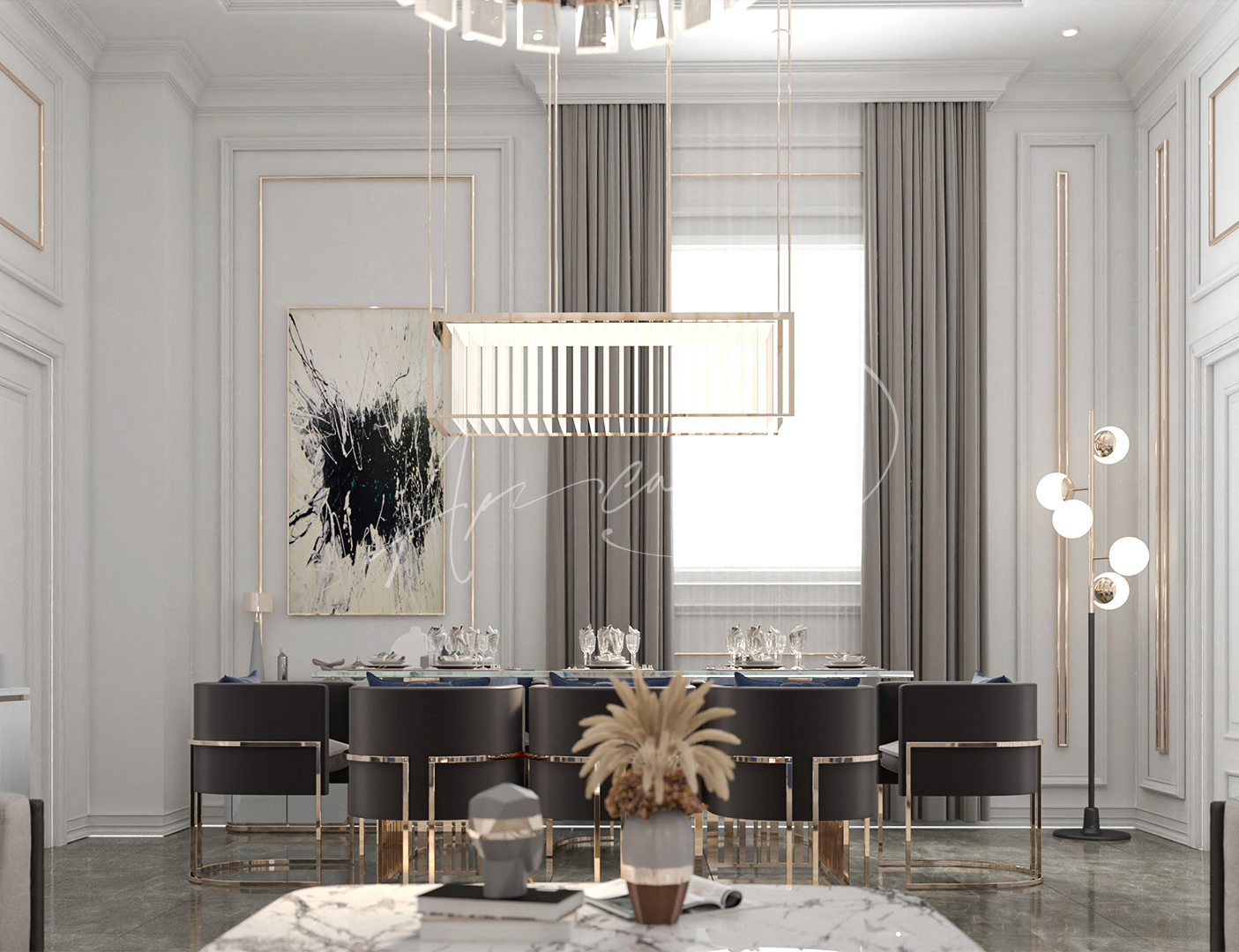 New Classic Dining Room