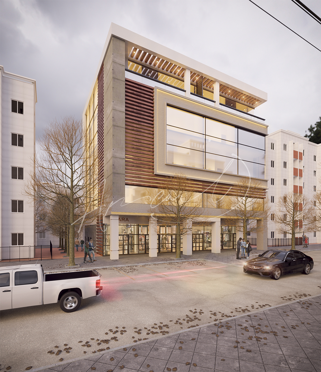 Commercial Building - 01