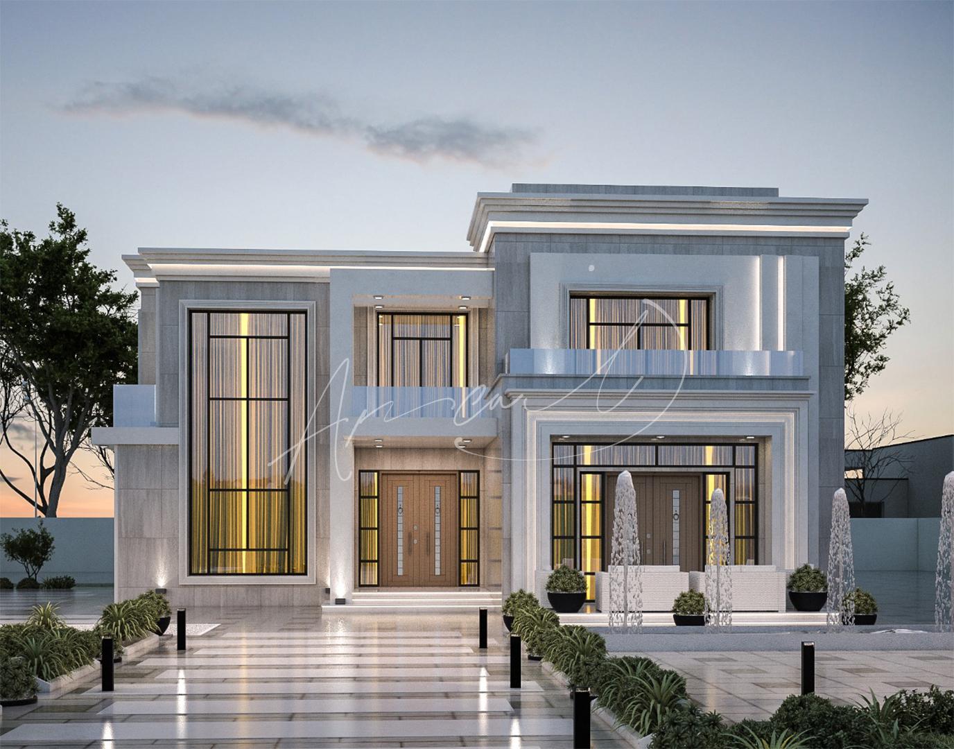 New Classic Villa Design - 083