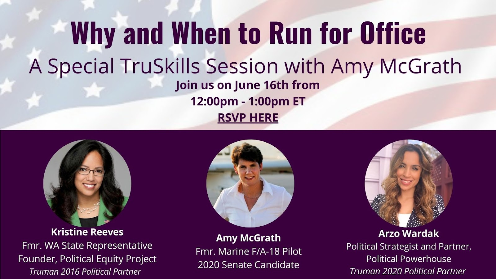 Why and When to Run for Office: A Special TruSkills Session with Amy McGrath