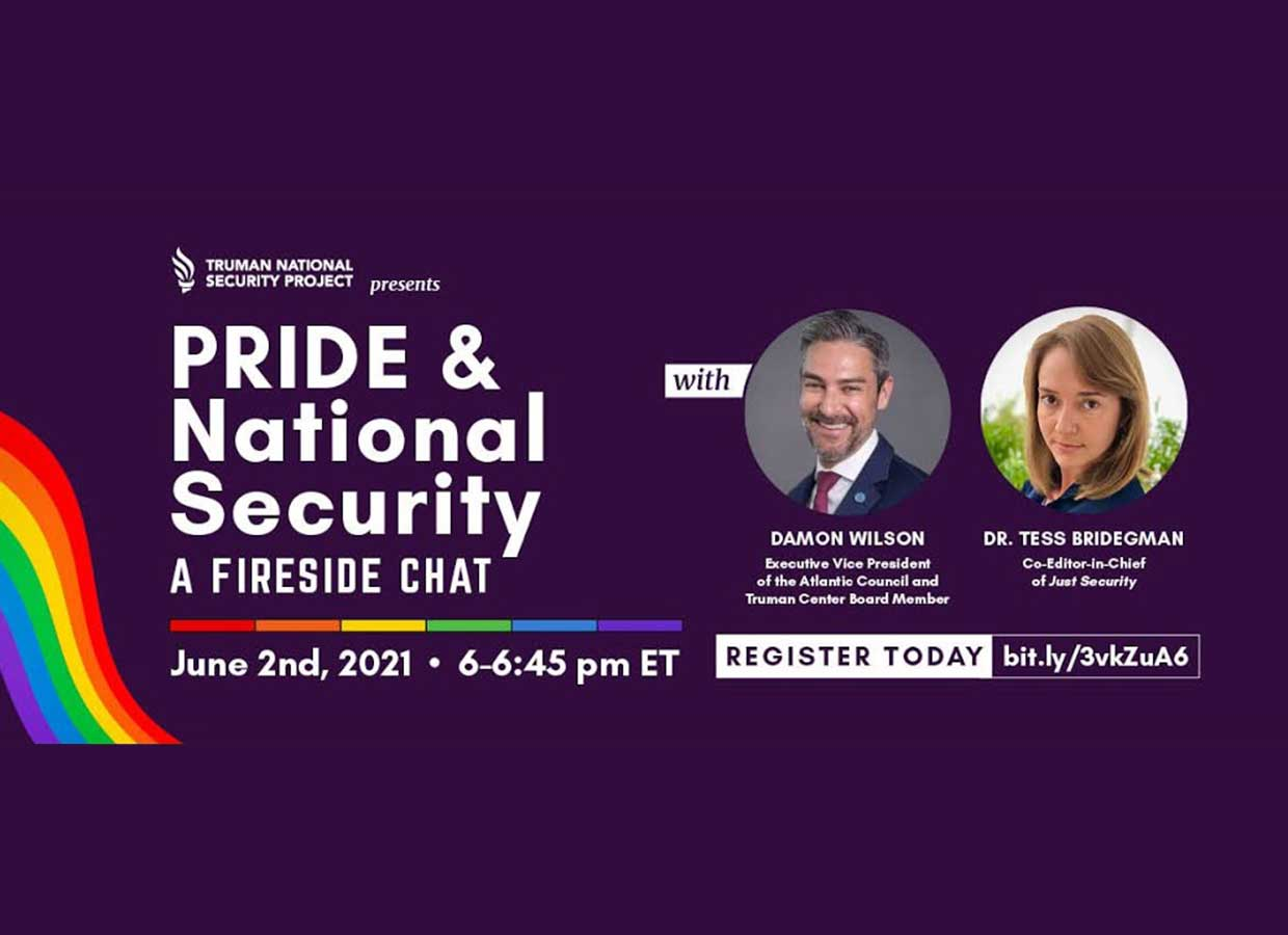 Event: Pride & National Security: A Fireside Chat