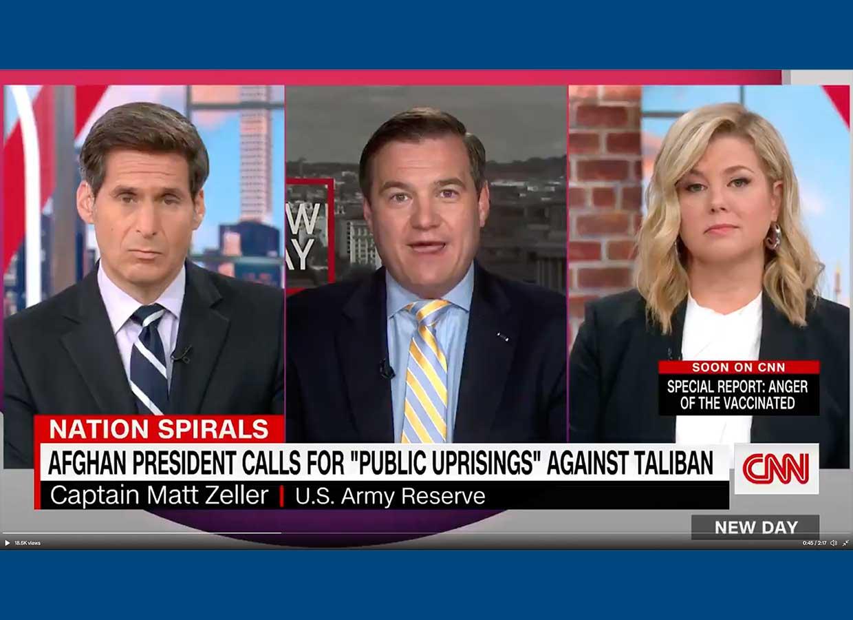 Matt Zeller on CNN
