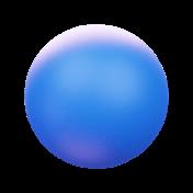 Awwards ball blue