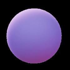 Awwards ball purple