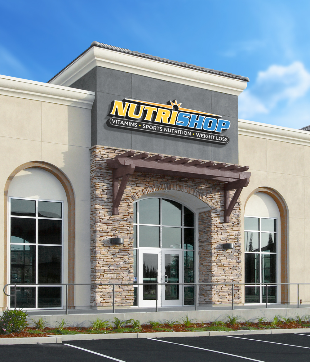 Image of Front of Nutrishop Store